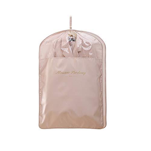 Cubiertas de ropa, Mousse Fantasía Satén EVA Material de la Ropa Cubierta Transpirable Traje Bolsa para el Almacenamiento del Armario (60,6 x 51 pulgadas)