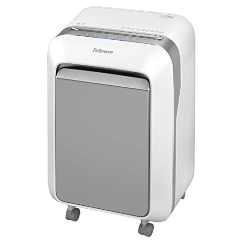 Fellowes LX21M Powershred Micro Cut 16 Sheet Paper Shredder (White)
