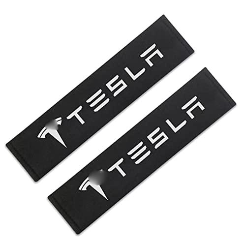 Aishengjia Cubierta De CinturóN De Seguridad De Coche Estilo De Coche para Tesla Modelo 3 Modelo X Y Estilo Roadster Accesorios Estilo De Coche