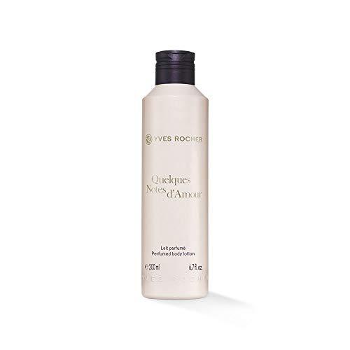 Yves Rocher QUELQUES NOTES D'AMOUR Körpermilch, Body Milk mit sinnlichem Duft, parfümierte Hautpflege, 1 x Flacon 200 ml