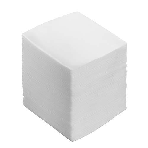 Milisten 100 Pz Asciugamano Usa E Getta Lavaggio Tamponi Viso Cotone Cosmetico Detergente Bagnato E Asciutto Asciugamano Bellezza Tessuti Usa E Getta per Pelli Sensibili E Cura Del Bambino