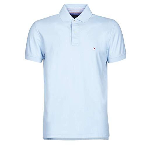 Tommy Hilfiger Herren Poloshirt Regular Fit bleu (50) XL