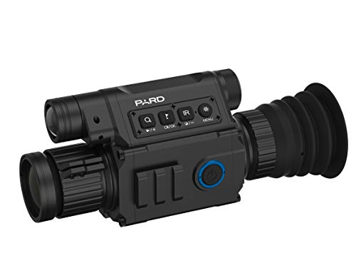 Pard NV008 lightest Day/Night Rifle Scope Digital Night Vision Hunting Riflescope Waterproof IP67 Include Mount Battery 200m IR WiFi iOS & Android Apps