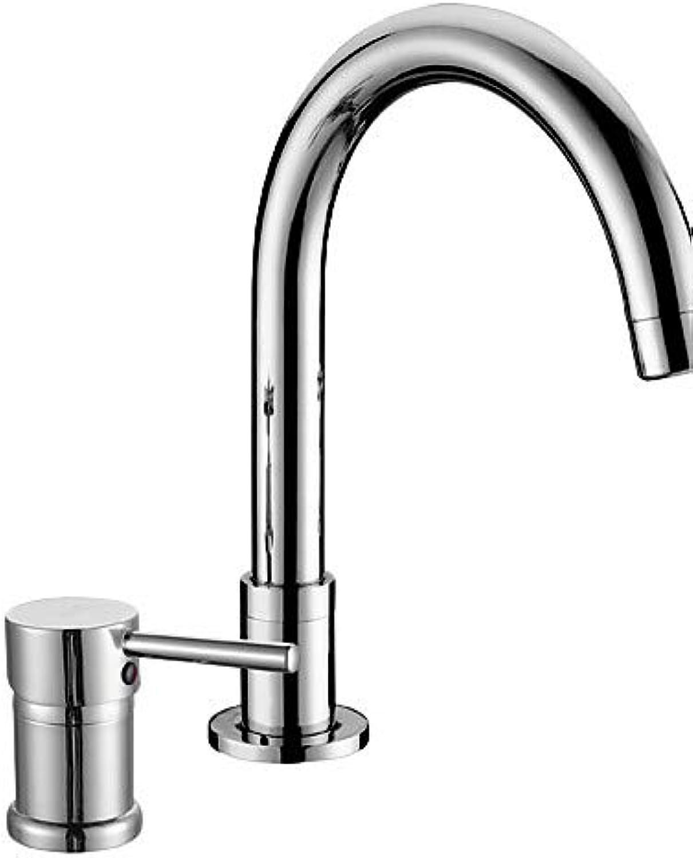 Mainstream home LPZSQ Tap Bathroom Sink Faucets Contemporary Brass Chrome  337