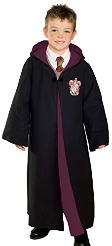 ? Harry Potter Deluxe Gryffindor Robe Child Costume Harry Potter Deluxe Gryffindor Robe Child Costume Halloween Size: Small (japan import)