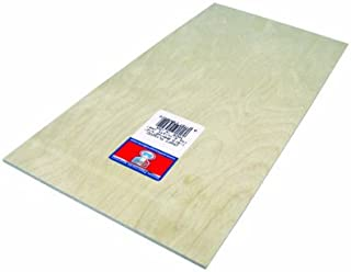 Midwest Products 5304 Craft Plywood, 6 x 12 x 0.125 Inches, Pack of 6