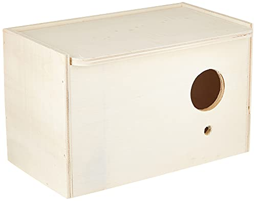 Trixie 5630 Nistkasten, 21 × 13 × 12 cm/ø 4 cm