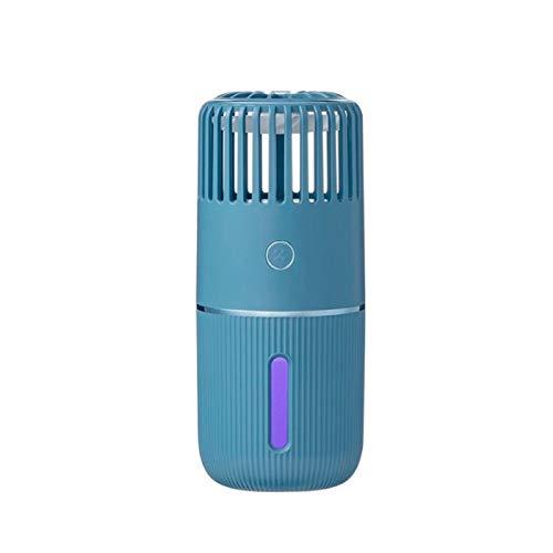 Bdesign Humidificador pequeño humidificador de aire Eliminar la electricidad estática Limpie el diseño del atomizador de aire Diseño silencioso con la luz de 7 colores del ventilador para la oficina d