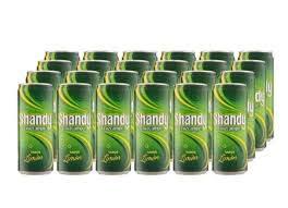 Shandy Cruzcampo Limón Cerveza - Caja de 24 Latas x 330 ml - Total: 7.92 L