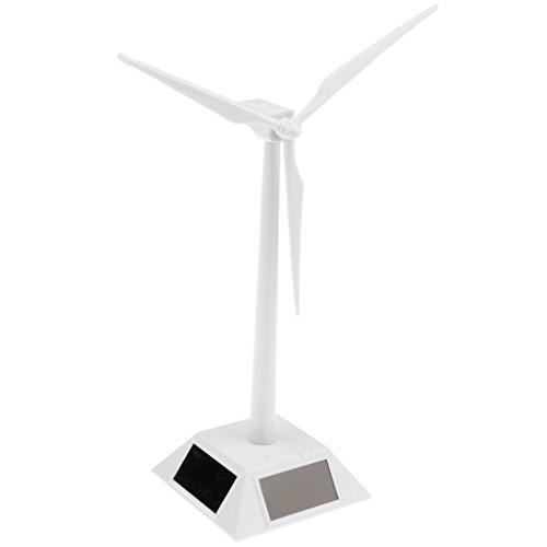Toygogo DIY Solarbetriebene Windmühlen Desktop Windkraftanlage Modell Kids Science Toys