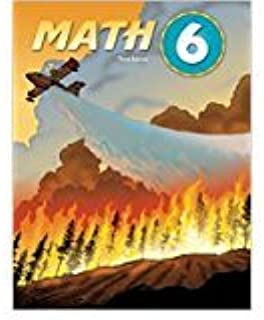 Math 6 Student Text (3rd Ed)