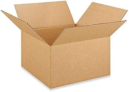 35.56cm 长 x 35.56cm 宽 x 20.32cm 高中号盒子适合移动、运输或储存物品,* 可回收,棕色(10 件装)
