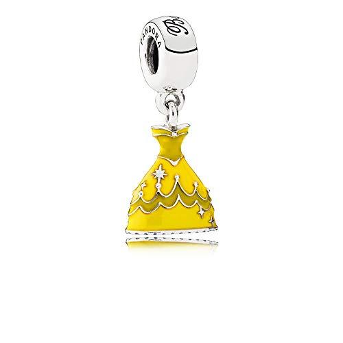 Pandora Charm 925 Disney, Belle´s Kleid Anhänger Sterlingsilber 791576ENMX