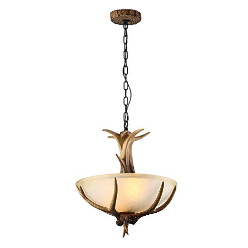 WYZXR - Lámpara de araña moderna para salón nórdico creativa, lámpara de madera para comedor, LED, madera maciza (tamaño: 5 luces)