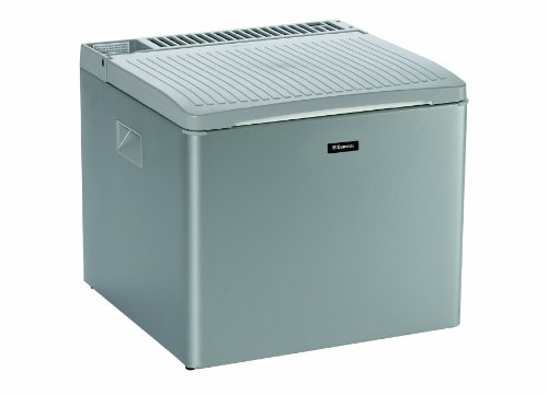 DOMETIC CombiCool RC 1200 3-Way Portable Absorption Coolbox, 12 V/230 V and Gas, Silver, Mini Fridge...