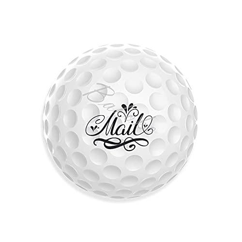 Mail nyhet golfbollar unika mönster vardaglig gåva för pappa mamma morföräldrar underbara gåvor för golfarträning