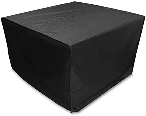 LSWY 210D Oxford Garden Furniture Funds Fundas a Prueba de Agua para la Mesa de ratán Cube Cube Sofa Sofa A Prueba de Agua Patio Exterior Caja Protectora de jardín Cubiertas
