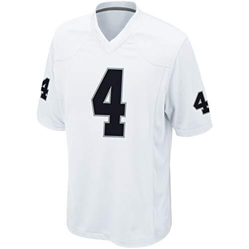 Basketball Trikot für Herren Swingman Jersey Hemd Derek Carr Oakland Raiders #4,S