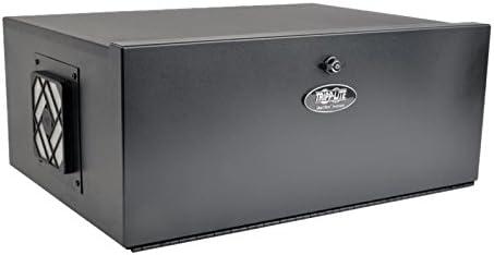 Tripp Lite 5U Security DVR Lockbox Rack Enclosure 60lb Capacity, Black (SRDVRLB)