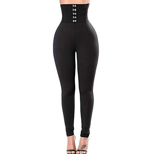 Pantalon Leggings Mujer Leggings De Cintura Alta para Mujer Leggins De Entrenamiento Push Up Sport Fitness Legging Femme Gym Pants Sexy Black Legins-25-2501-01_L