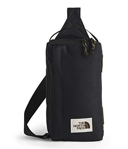 The North Face Field Bag Schwarz, Umhängetasche, Größe 7l - Farbe TNF Black Heather