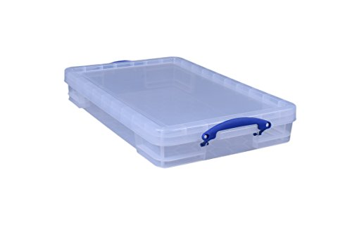 Really Useful Box Aufbewahrungsbox 20 Liter, transparent