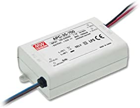 Mean Well Power Supply APC-12-350, AC-DC, 9-36V 0.35A Output, 100-264V Input, 12.6W, LED Driver, Constant Current, APC Series (350mA, 36VDC)