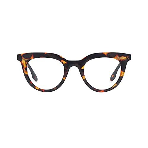 K-EYES – Gafas de lectura – Dioptría + 2,5 – Forma mariposa – Color escamas – ramas flexibles – Diseñado en Francia