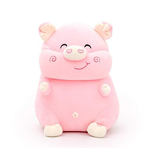Lazada Pig Plush Pillow Stuffed Animal Plush Pet Gifts Toy for Kids Girls Pink 14 Inches