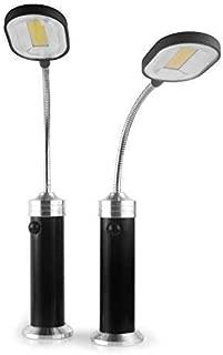 funsport - Parrilla magnética para Barbacoa con luz LED, magnética, 360 Grados, Ajustable, Resistente al Agua, para Exteriores, Barbacoa, Accesorios (2 Unidades)