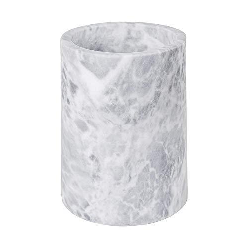 Argon Tableware Marmor Weinflaschenkühler-Shirt | Robuster Stein Barware Champagne Chiller | 13 x 18 cm - Grau