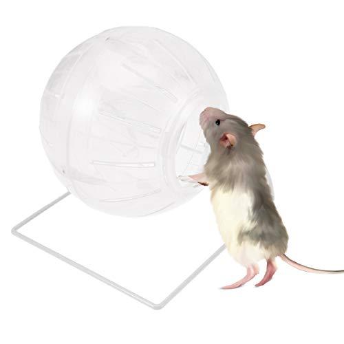 POPETPOP Hamster-Gymnastikball, 4-in-1-Multifunktions Hamster Laufball Hamster Miniball für Zwerghamster, Maus, Syrischer Hamsterball mit Stand-Clear