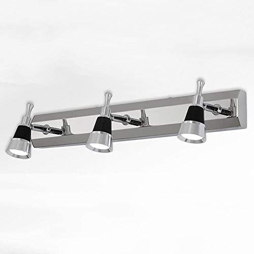 LED Spiegel Front Light Simple Roestvrij Staal Badkamer Spiegellichten Wandlamp/hoek verstelbaar