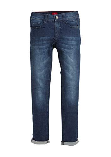 s.Oliver Jungen 62.911.71.3485 Jeans, Blau (Blue Denim Stretch 57z2), 158 (Herstellergröße: 158/REG)