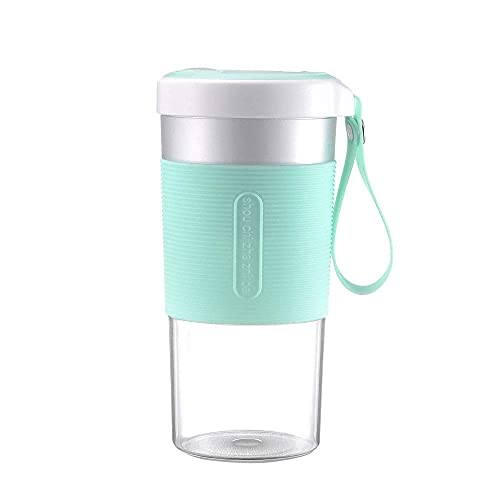 Taza de agua Exprimidor eléctrico Exprimidor portátil Pctg Alimentos Contactable Juicer Cup Sin Bpa Usb Carga Mini jugo Copa 30S Diy Delicioso Pequeño Batido Eléctrico Licuadora Hogar Oficina Ou