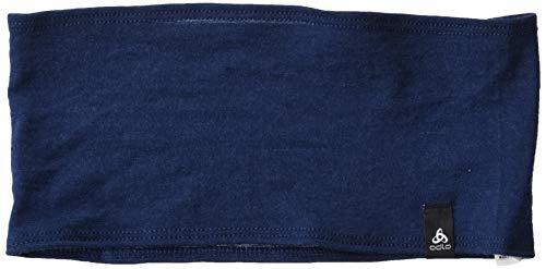 Odlo Headband Natural 100% Merino WARM Stirnband, Blue Wing Teal