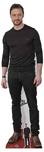 STAR CUTOUTS CS805 James McAvoy Actor Mini découpe en Carton Grandeur Nature Multicolore Hauteur 172 cm
