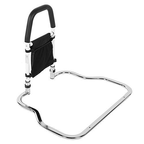 EBTOOLS Bettgriff Aufstehhilfe Bettaufrichter Bettaufstehhilfe Bed Rails Bed Side Handrail Handicap Bettgeländer Absturzsicherung Handlauf mit Aufbewahrungstasche, maximale Tragfähigkeit 136 kg