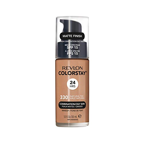 Revlon ColorStay Base Maquillaje piel mixtograso FPS15 330 Natural