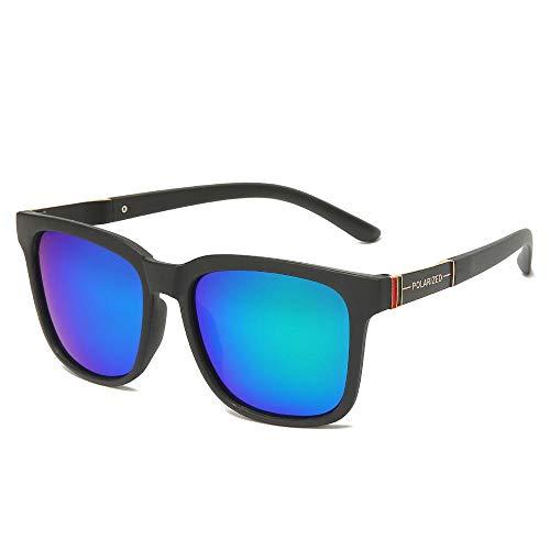 Sunglasses Gafas De Sol Polarizadas Cuadradas De Diseño para Hombre, Gafas De Sol para Conducir, Gafas De Sol con Revestimiento Vintage, Gafas De Sol Uv400, 06