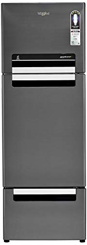 Whirlpool 300 L Frost-Free Multi-Door Refrigerator (FP 313D PROTTON ROY, Steel Onyx)