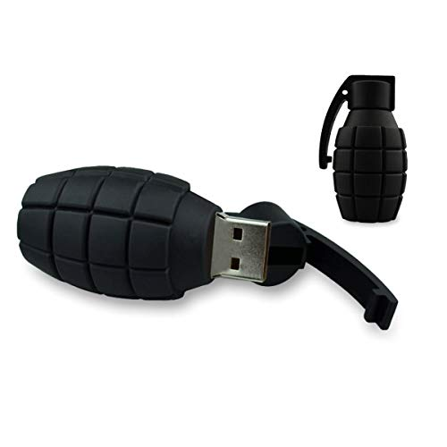 Mood Milano - Memoria USB (silicona, 8 GB, 5 x 3 x 1,5 cm), diseño de bomba de mano