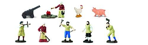 Safari Ltd. Jamestown Settlers TOOB with 10 Fun Figurines