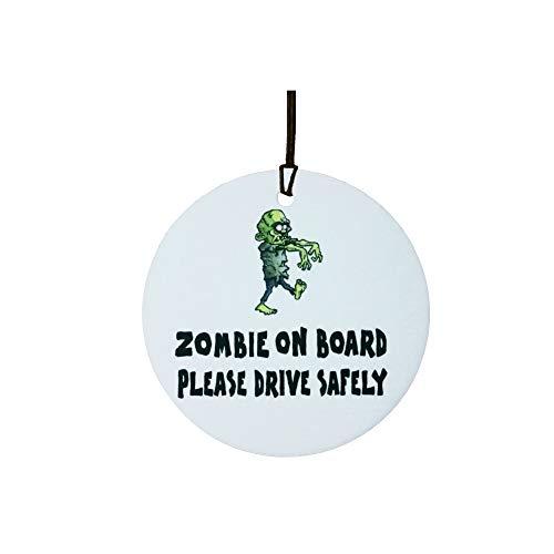 AAF Ambientador De Coche Zombie ON Board
