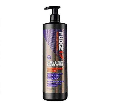 Fudge Professional Purple Toning Shampoing pour cheveux blonds