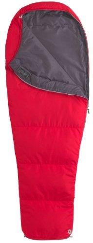 Marmot Kunstfaserschlafsack Nanowave 45, Team red, LZ, 21460-6278-L