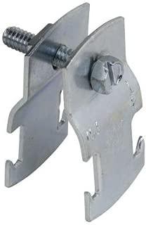 THOMAS & BETTS/CARLON Z703 2EG-25 Thomas & Betts 700 Universal Pipe Clamp, 2 In, 800 Lb, Steel, Electro Galvanized, 1-1/4 In H X 14 Ga T