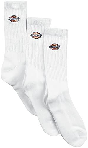 Dickies Valley Groove 3er-Pack Unisex Socken weiß EU 39-42