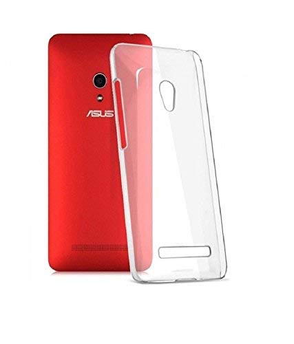 FCS® Transparent Full Protective Back Cover for Asus Zenfone 5 A501CG