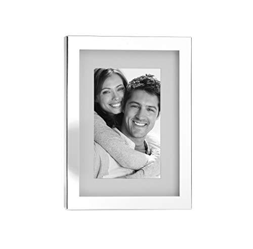 Fink Fotorahmen Ben - versilbert zum Stellen und Hängen Format 13x18 cm